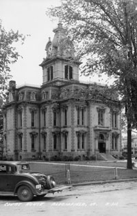 Davis County Courthouse 1938